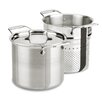 <strong>All-Clad</strong> d5 Brushed Stainless Steel 7-qt. Multi-Pot