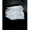 Axo Light Avir E26 4 Light Semi Flush Mount