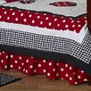 <strong>Little Ladybug Toddler Bed Skirt</strong> by Sweet Jojo Designs
