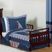 Nautical Nights 5 Piece Toddler Bedding Set