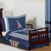 Sweet Jojo Designs Nautical Nights 5 Piece Toddler Bedding Set