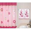 Sweet Jojo Designs Flower Shower Curtain