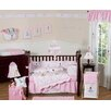 Ballerina 9 Piece Crib Bedding Set