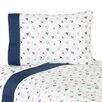 Nautical Nights Twin Sheet Set