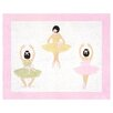 <strong>Sweet Jojo Designs</strong> Ballerina Collection Floor Rug