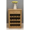 <strong>Mobel Oak Wine Rack Lamp Table</strong> by Baumhaus
