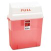 Medline Patient Room Sharps Container, 3 Gallon