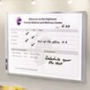 "Quartet® Inview 1' 6"" x 2' Custom Whiteboard"