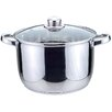 <strong>Sabichi</strong> Essential Taper Shape 24cm Stockpot with Lid