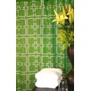 <strong>Plush Living</strong> Blocks Shower Curtain