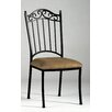 Chintaly Imports Iron Side Chair (Set of 4)