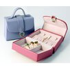 Bold and Spring Ladies Petite Handbag Jewelry Box in Purple