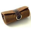 Budd Leather Faux Suede and Leather Jewelry Pouch