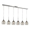TransGlobe Lighting 6 Light Kitchen Island Pendant
