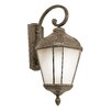 <strong>TransGlobe Lighting</strong> 1 Light Outdoor Large Down-Light Wall Lantern