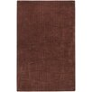 Candice Olson Rugs Sculpture Chocolate Checked Area Rug