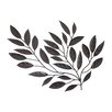 <strong>Legacy Home</strong> Forged Metal Leaves Sculpture Wall Decor