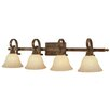 <strong>Golden Lighting</strong> Rockefeller 4 Light Bath Vanity Light