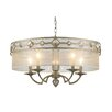 <strong>Golden Lighting</strong> Coronada 5 Light Drum Chandelier