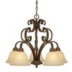 <strong>Rockefeller 5 Light Nook Chandelier</strong> by Golden Lighting