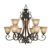 Meridian 9 Light Chandelier