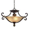 <strong>Golden Lighting</strong> Portland 3 Light Convertible Inverted Pendant