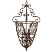 <strong>Golden Lighting</strong> Loretto Caged Foyer Pendant