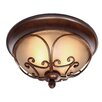 Golden Lighting Loretto 2 Lights Flush Mount