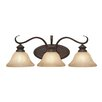 <strong>Golden Lighting</strong> Lancaster 3 Light Bath Vanity Light