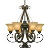 <strong>Golden Lighting</strong> Mayfair 6 Light Chandelier