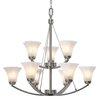 Golden Lighting Accurian 9 Light Chandelier