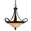 Torbellino 3 Light Bowl Inverted Pendant