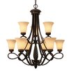 Torbellino 9 Light Chandelier