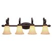 Golden Lighting Torbellino 4 Light Bath Vanity Light