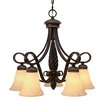 <strong>Torbellino 5 Light Nook Chandelier</strong> by Golden Lighting