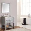 """Avanity Brooks 31"""" Single Bathroom Vanity Set with Mirror"""