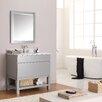 "Avanity Tribeca 37"" Single Bathroom Vanity Set with Mirror"