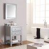 """Avanity Brooks 25"""" Single Bathroom Vanity Set with Mirror"""