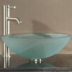 Avanity Tempered Glass Vessel Bathroom Sink