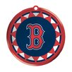 Team Sports America MLB Blown Glass Logo Disc Ornament