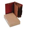 <strong>Acco Brands, Inc.</strong> Pressboard 25-Pt. Classification Folder, Legal, 8 Section, 10/Box