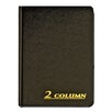 Adams Business Forms 2 Column Cloth Cover Account Book (Set of 6)