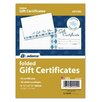 Adams Business Forms Card and Folded Gift Certificate (Set of 160)