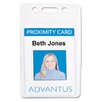 <strong>Advantus Corp.</strong> Proximity Id Badge Holder, Vertical, 2 3/8W X 3 3/8H, 50/Pack