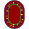 Joy Carpets Educational AlphaScript Bold Design Area Rug