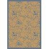 Joy Carpets Nature Fancy Fiddlers Blue/Beige Area Rug