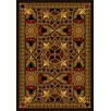 Joy Carpets Gaming and Entertainment People Play Beige Jackpot Poker Area Rug