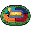 <strong>Educational Essentials Amazing ABC's Kids Rug</strong> by Joy Carpets