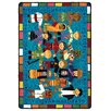 Joy Carpets Educational Essentials VIP Welcome in Many Languages Area Rug