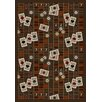 <strong>Joy Carpets</strong> Gaming and Entertainment Feeling Lucky Chocolate Novelty Rug